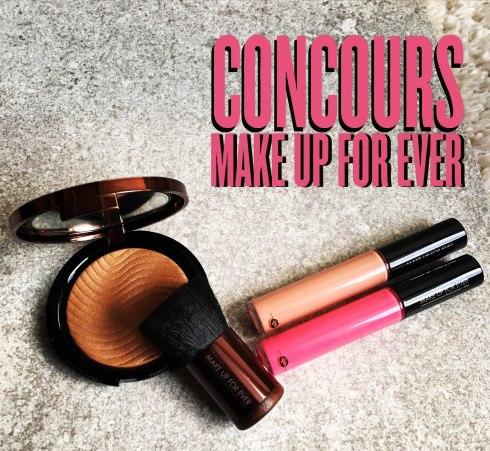 Concours Make up for ever dans mon sac de fille