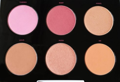Blush Palette Gwen Stefani Cherry Angel Hush Easy Lo-Fi OC