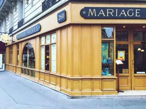 Restaurant Mariage Frères Faubourg Saint Honoré Cuisine au thé