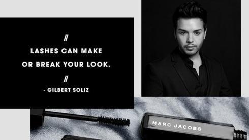 Marc Jacobs Beauty Velvet Noir Mascara Volume Spectaculaire avis blog résultat prix Gilbert Soliz