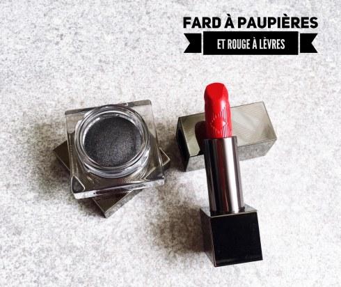 Burberry maquillage Printemps été rouge à lèvres fard à paupières avis blog