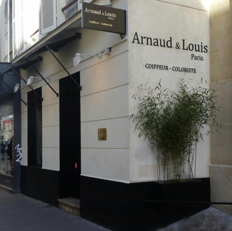 Salon de coiffure Arnaud et Louis Paris avis blog coiffeur