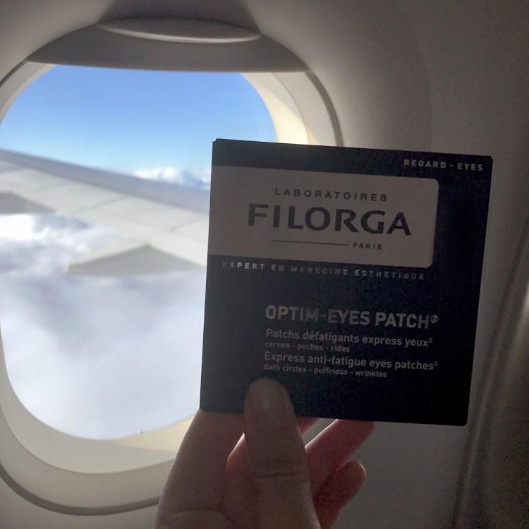 Filorga Optim-eyes patch yeux avis blog