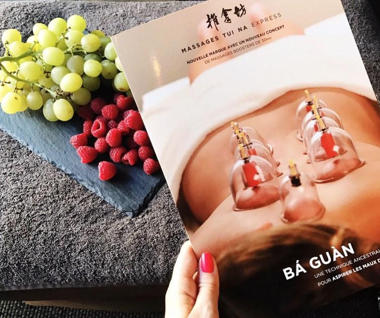 J'ai testé massage ventouses chinoise Ba guan Salon Tui Na Express Paris avis blog