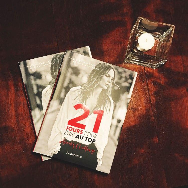"""livre """" 21 Jours pour être au Top"""" de Christel Vatasso et Pascal Loperena Flammarion"""