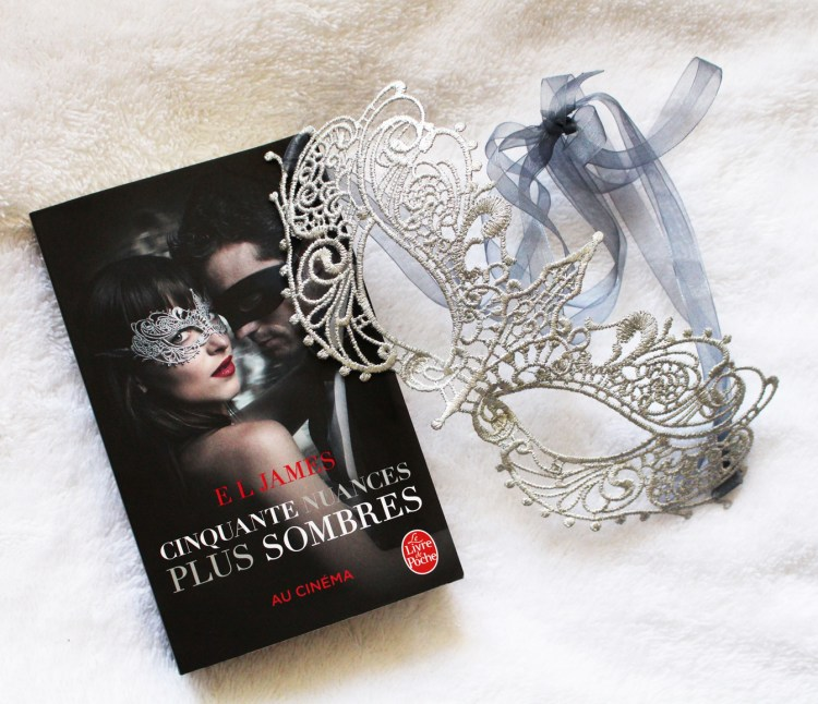 50 Nuances Plus Sombres Film Fifty Shades of Grey avis masque blog