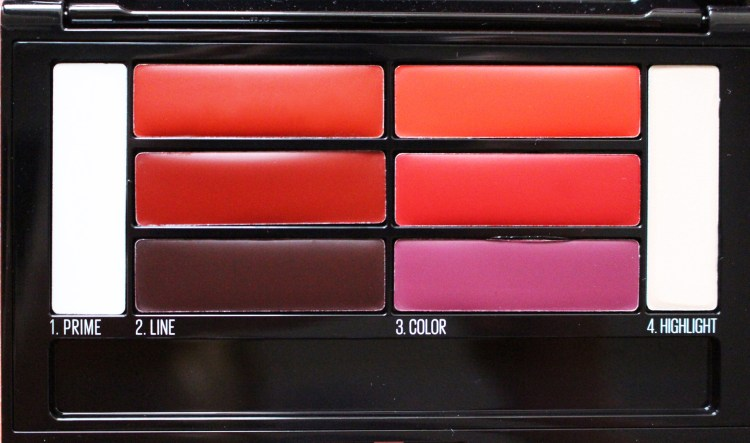 Palette Color Drama Lip Contour Maybelline Lip-Contouring Ombre Lips avis blog