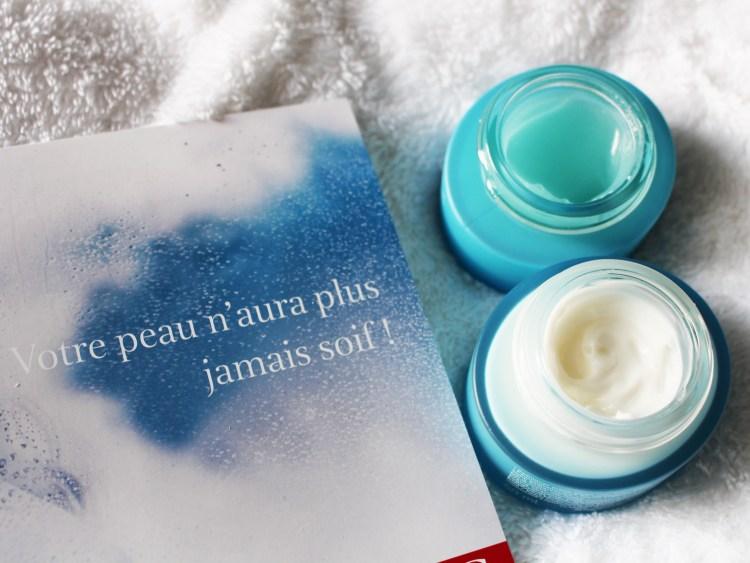 hydra essentiel soin visage hydratant clarins blog gel sorbet crème riche