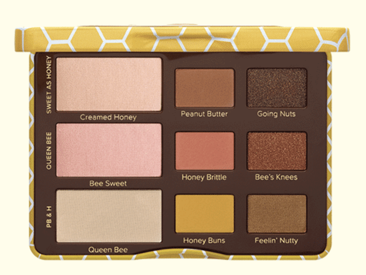Too Faced Collection été palette honey peanut butter date sortie