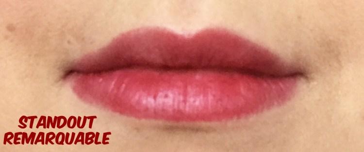 Standout Remarquable crayon rouge à lèvres revlon colorburst baume mat avis blog