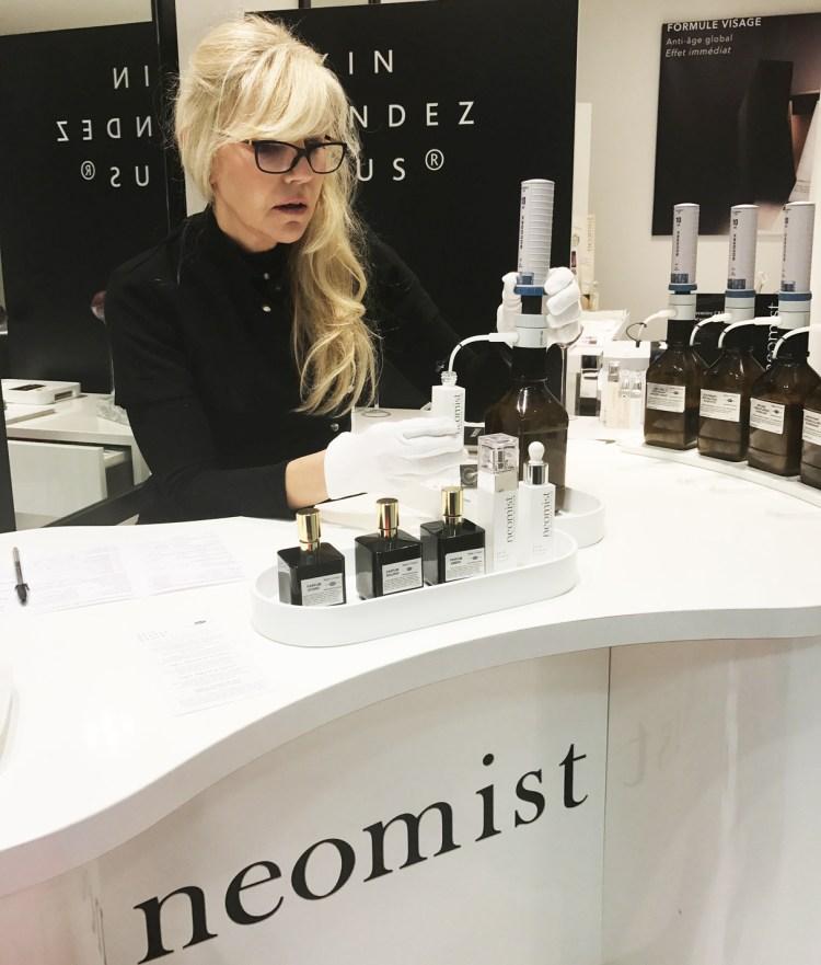 Skin Rendez-Vous soin sur mesure crème de jour sérum Neomist avis blog test