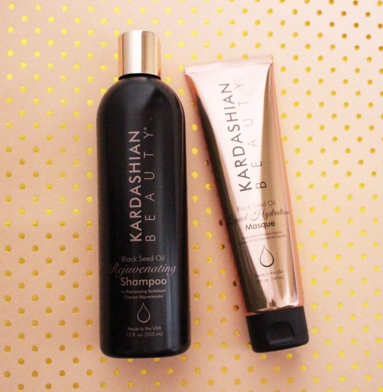 Kardashian Beauty masque cheveux Black Seed Oil avis blog kim kourtney khloé