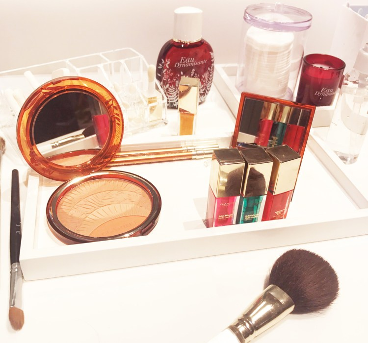Clarins Eclat Minute Huile Confort Lèvres avis blog red berry candy tangerine mint honey