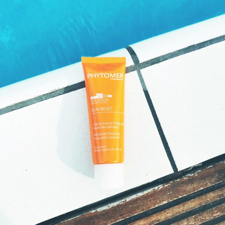 Avis Sun Reset Crème Solaire Protectrice Haute Récupération SPF 50 Phytomer