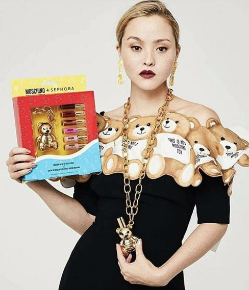 Made in Sephora X Moschino collection makeup accessoires avis blog copie