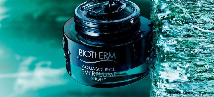 Aquasource Everplump Night nouveau masque de nuit Biotherm avis blog