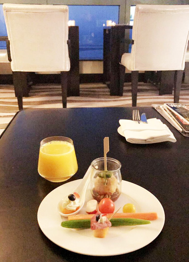 hôtel de luxe 5 étoiles Sofitel Corniche à Abu Dhabi club Millesime blog photo