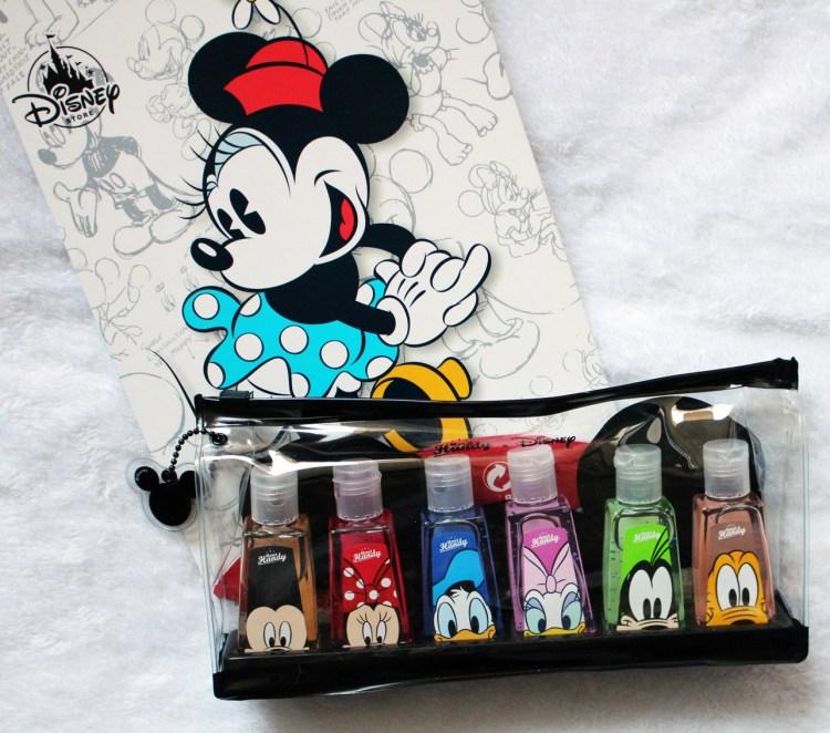 Le kit de gels nettoyant pour les mains Merci Handy X Disney Collection avis blog