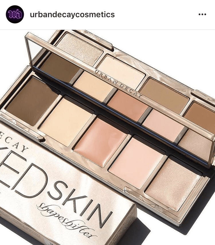 Nouveauté urban Decay Naked Skin Shapeshifter blog
