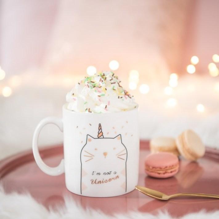 Mug en porcelaine I am not a unicorn maison du monde blog
