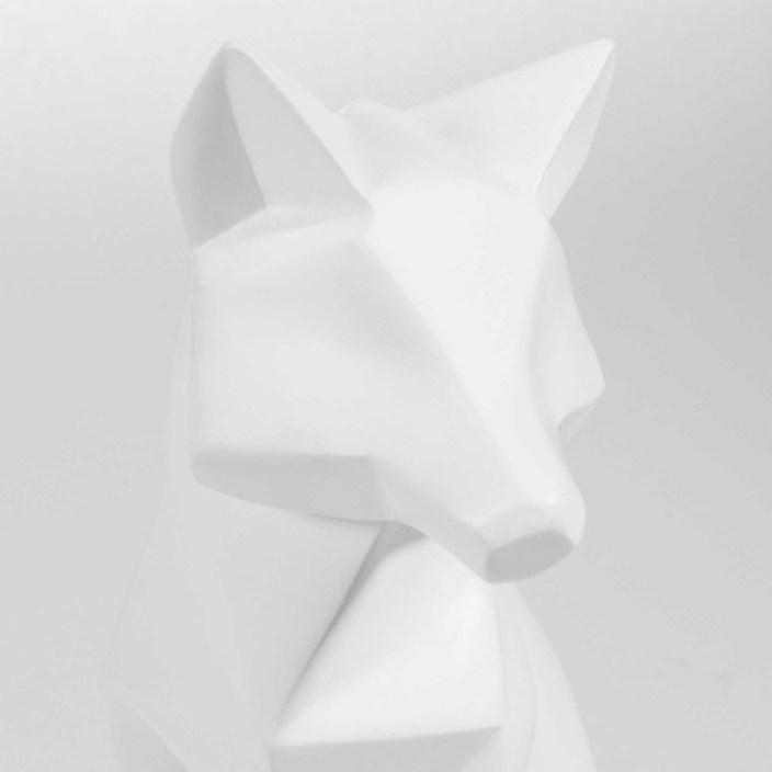 Statuette Renard Blanc Maison du Monde blog