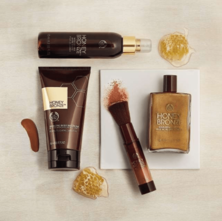 Test et avis BB Crème Bronzante Corps Honey Bronze de The Body Shop blog