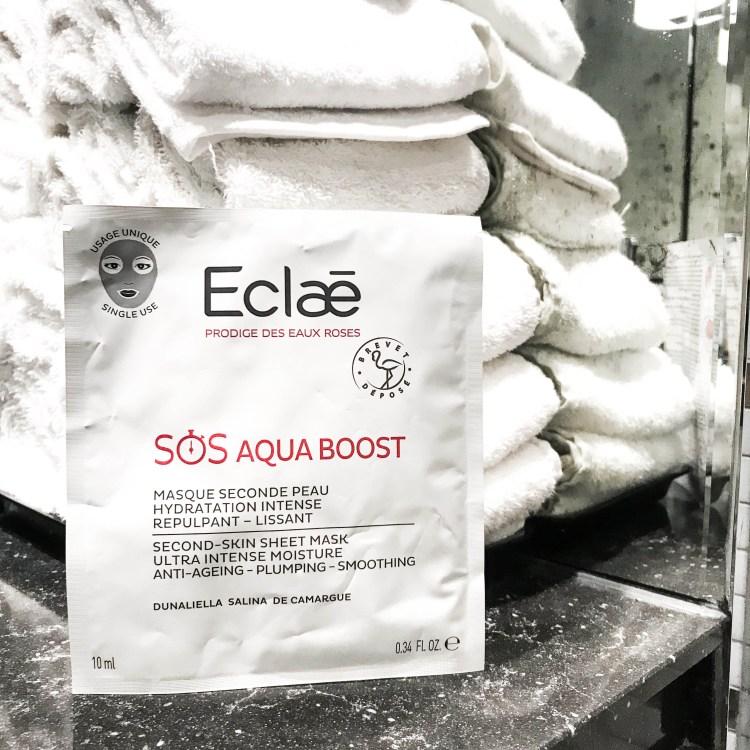 Mon avis sur le masque tissu SOS Aqua Boost d'Eclae