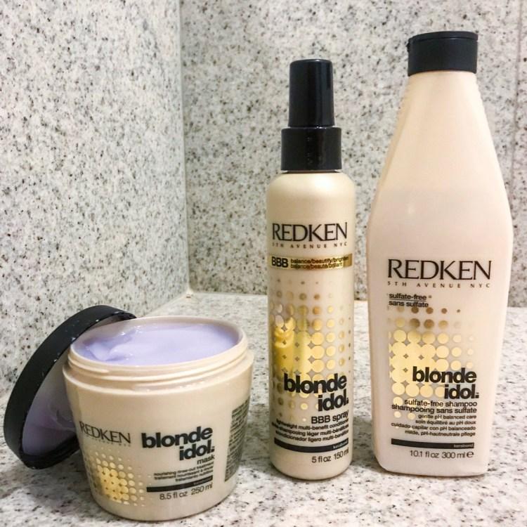 Mon avis sur la gamme Blonde Idolde Redken blog beauté