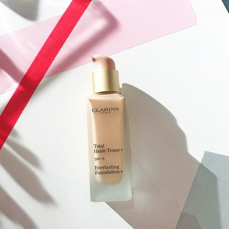 Teint Haute Tenue Graphik collection maquillage Automne Hiver 2017 de Clarins avis blog dans mon sac de fille