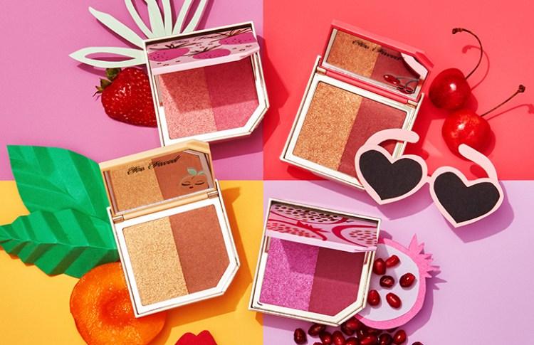 Tutti Frutti la nouvelle collection maquillage de Too Faced palette Le duo d'highlighter & de bronzer Pineapple Paradise Cherry Bomb avis blog