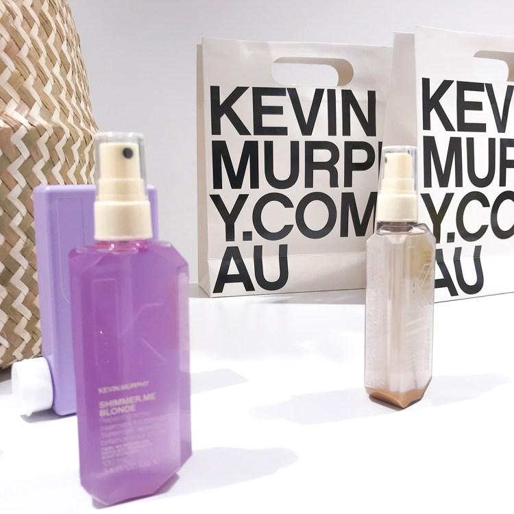 Découverte du shampoing et du soin Repair Me de Kevin Murphy blonde angel