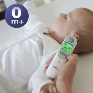 Thermomètre auriculaire Thermoscan7 Braun avis blog liste naissance
