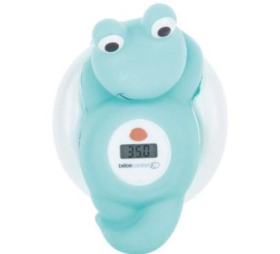 Thermomètre de bain grenouille Sailor Bleu de Bébé Confort avis blog liste de naissance