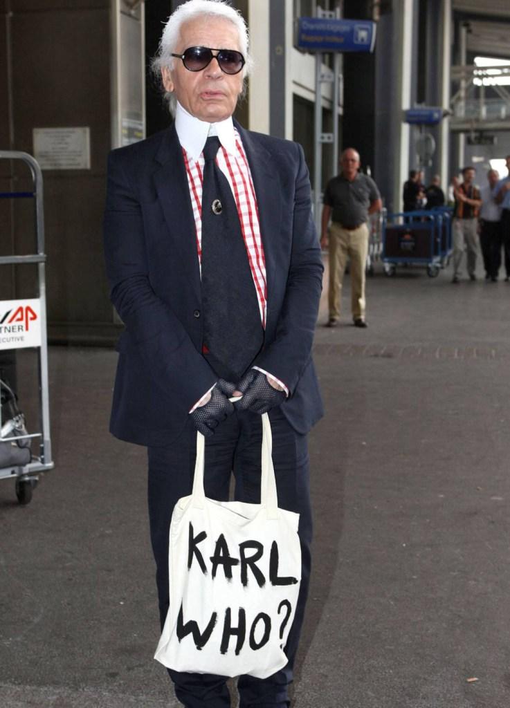 Le monde selon Karl Lagerfeld sac karl who