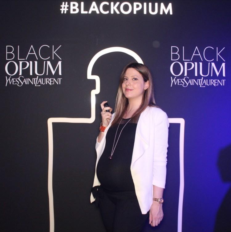 Black Opium Eau de Parfum Intense la nouvelle fragrance d'Yves Saint Laurent avis blog beauté soirée paris boom boom