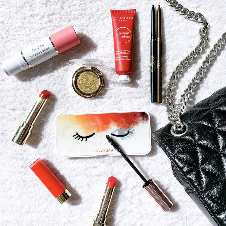 La collection maquillage Selfie Ready with Clarins avis blog makeup swatch