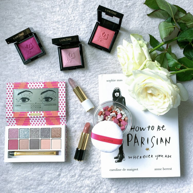 Café Bônheur mon avis sur la collection maquillage 100% parisienne de Lancôme blog swatch dans mon sac de fille