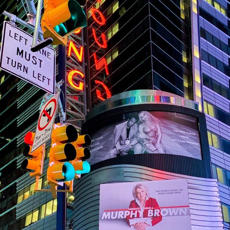 New York times square beyonce jay z bonnes adresses à faire absolument blog voyage