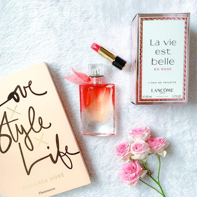 Eau de toilette La vie est belle en rose Lancôme blog avis dans mon sac de fille