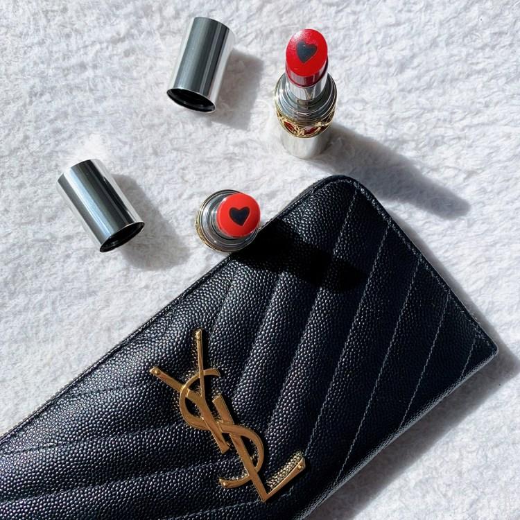 Rouge Volupté Shine mon avis sur les nouveaux rouges à lèvres Yves Saint Laurent blog swatch