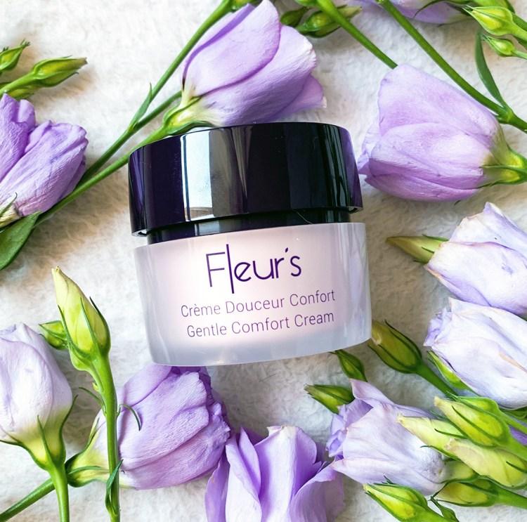 Test de la jolie Crème Douceur & Confort Fleur's avis blog swatch