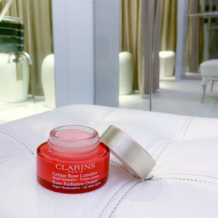 Multi Intensive Crème Rose Lumière nouvelle crème anti rides Clarins avis blog test