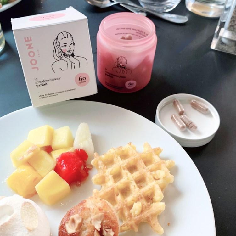 Mon avis sur les compléments alimentaires pour la peau de Joone blog test