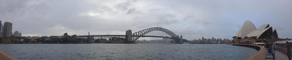Vue depuis l'Opera concourse Sydney