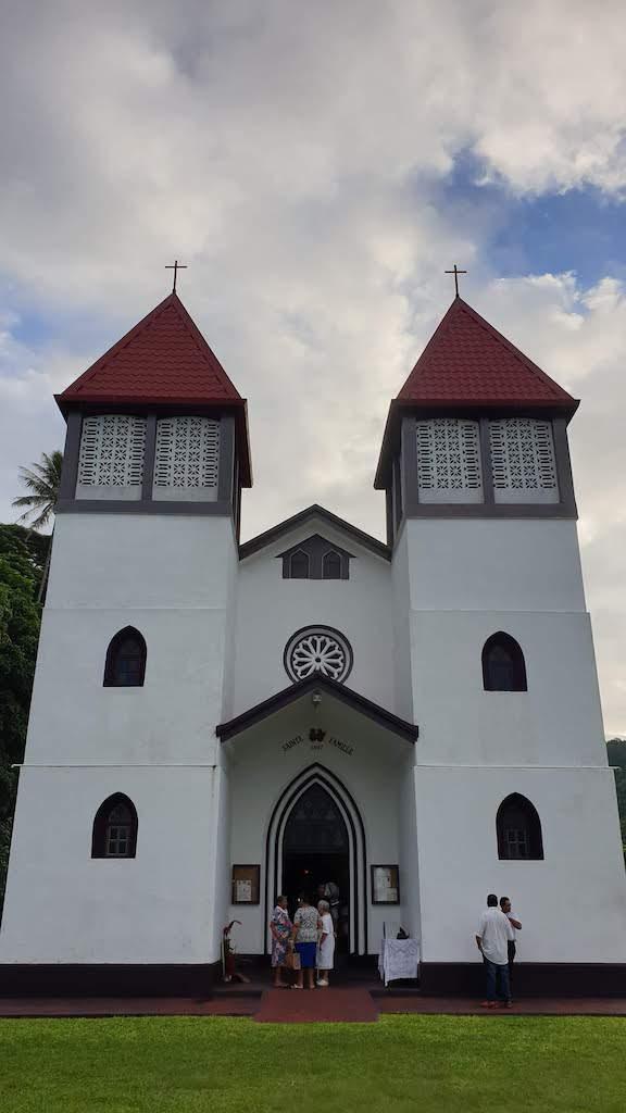 Eglise d'Haapiti Moorea