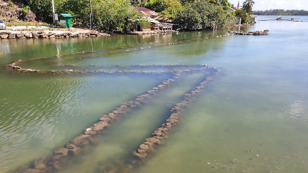 Parcs à poissons Huahine