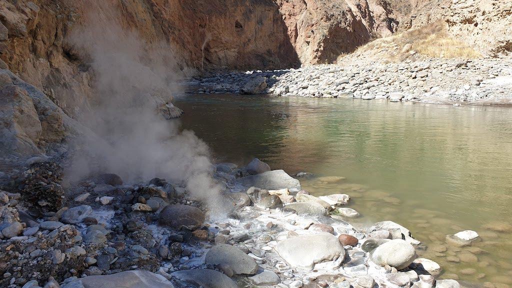 Canyon de Colca geysers