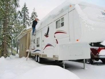 8 tapes d 39 hivernisation d 39 une roulotte caravane vr et for Entreposage interieur pour vr