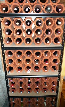 Construire un cellier et cave vin maison peu de frais for Cave a vin pour mettre dans un garage