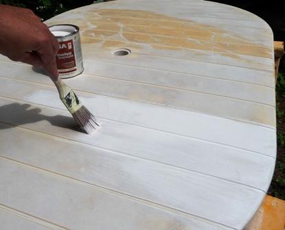 peindre vos meubles de jardin pour r nover votre patio dans notre maison. Black Bedroom Furniture Sets. Home Design Ideas